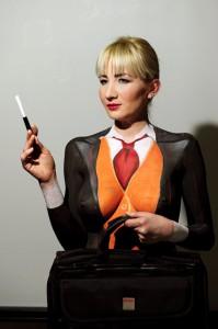Skola Body Arta Sa nastave Body art-a na studijama za makeup artistu