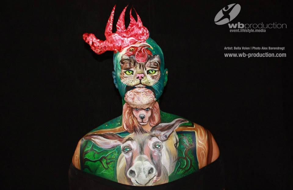 Internacionalni Face and Body Art Festival i takmičenje u Beogradu