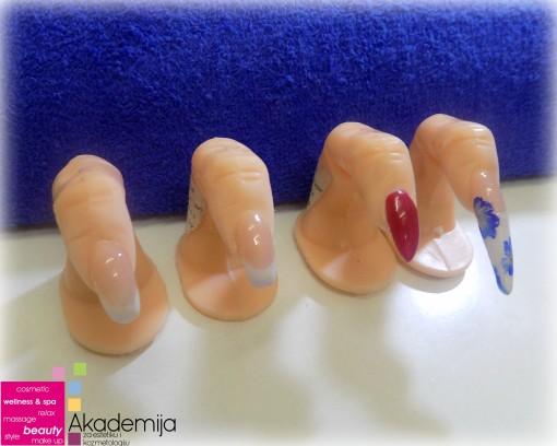 POGLEDAJTE ŠTA SE UČI NA ČETVRTOM PREDAVANJU kursa Nadogradnja i ekstenzija noktiju sa nail art-om