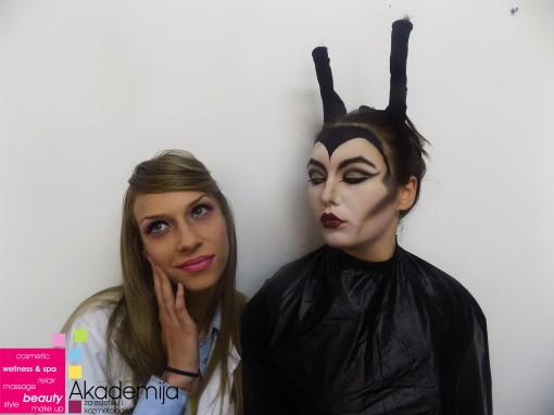 VEŠTICE I LEPOTICE – praktična nastava na smeru makeup artist I godina