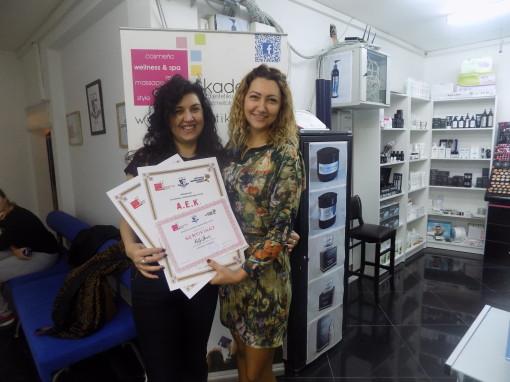 Milja Jović, akademski kurs masaže