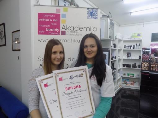Danijela Todorović, akademski kurs profesionalnog šminkanja