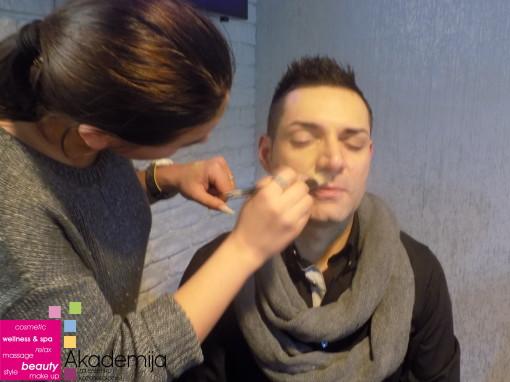 Akademija Purity i Danijel Đurić – makeup and hair podrška na snimanju muzičkog spota