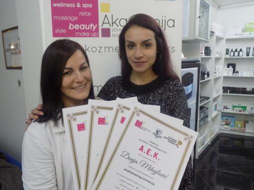 Dunja Mihajlović, akademski kurs profesionalne i scenske šminke