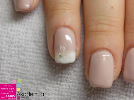 OMBRE NAIL ART – izlivanje noktiju sa ukrašavanjem