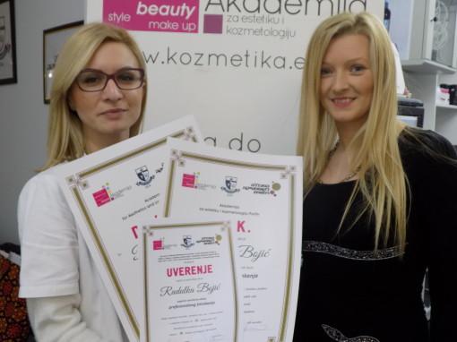 Radulka Bojić, akademski kurs profesionalnog šminkanja