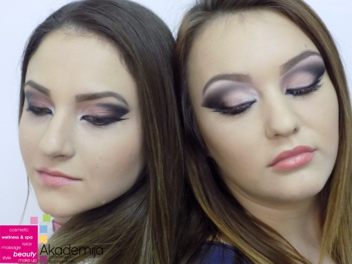 DRAMATIČNA ŠMINKA – sa nastave na predmetu Scenska šminka, prva godina Makeup smer