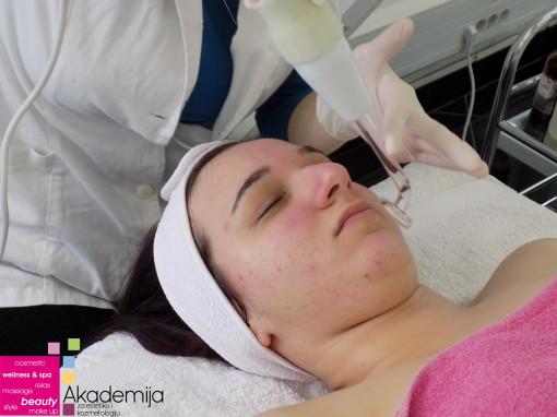 DARSONVAL – sa nastave na predmetu Elektrotehnika i savremeni aparati u kozmetičkim tretmanima