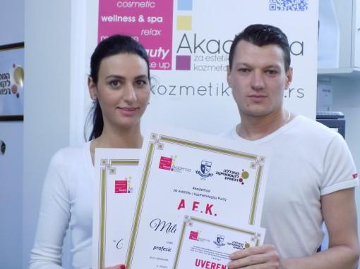 MIlica Marković, akademski kurs za profesionalnog masera