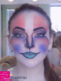 ŠMINKA KAO FANTAZIJA – sa nastave na predmetu Scenska šminka