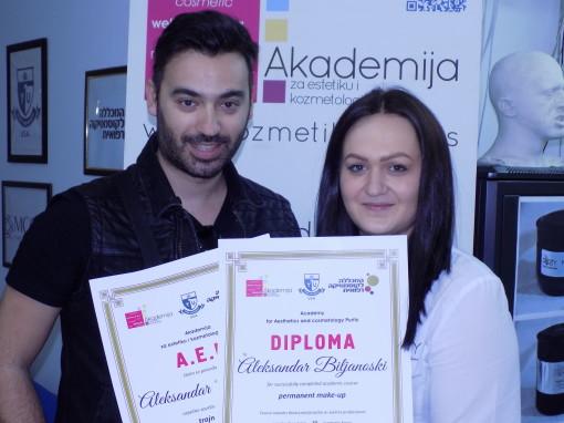 Aleksandar Dadar Biljanoski, Skoplje, Makedonija