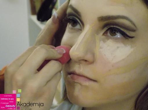 Kako smanjiti nos šminkom