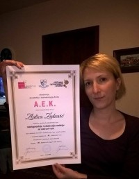 Zlatica Živković, akademski kurs za nadogradnju noktiju sa nail art-om