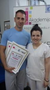 Miodrag Radovančev, akademski kurs masaže I nivo