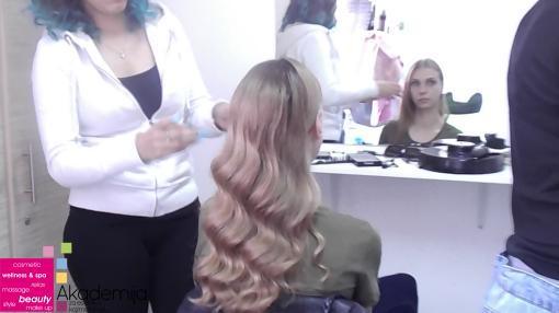FRIZURA CRNO-BELIH FILMOVA – rad studenata prve godine smera Makeup artist