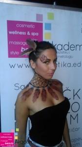 UMETNOST SLIKANJA PO TELU – body art u sklopu Restart programa u klubu Shake&Shake