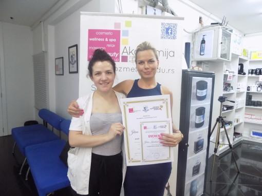 Jelena Karatošič Gambarjan, akademski kurs masaže