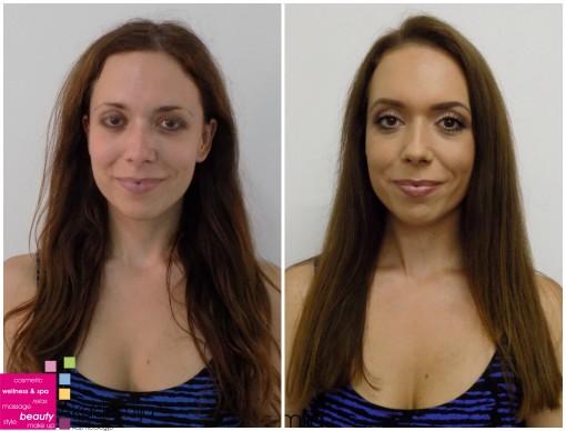 TRANSFORMACIJA DUGE KOSE – sa nastave na kursu za ženskog frizera