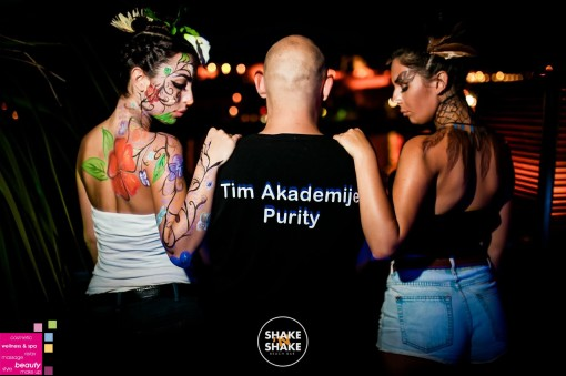 KLUB SHAKE'N'SHAKE – body art by Tim Akademije Purity