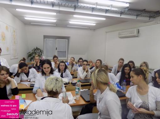 MANIKIR I NJEGOVE OSNOVE – studenti II godine na predavanju