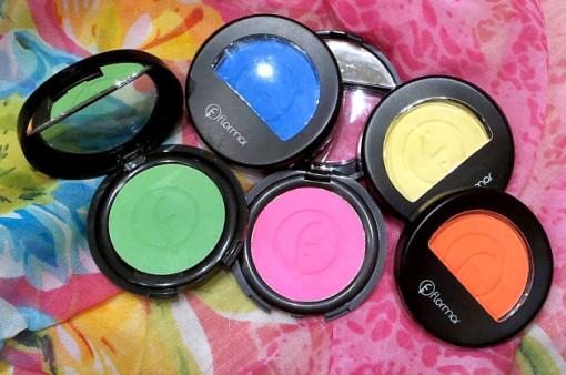 Neon boje senki za oči