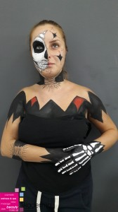 CRTANJE KOSTURA – i još mnogi drugi radovi studenata druge godine na predmetu Body art