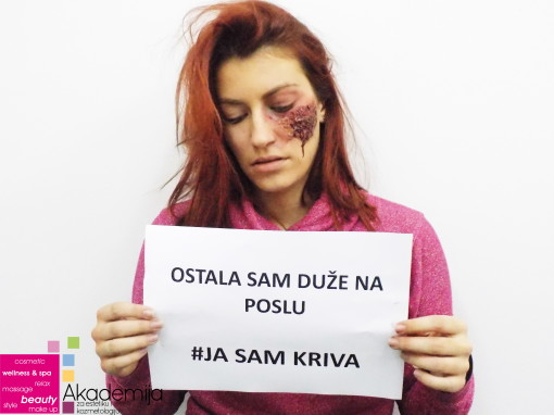 #JA SAM KRIVA – stop nasilju nad ženama, specijalni filmski efekti
