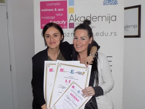 Tatjana Vračević, akademski kurs masaže I nivo
