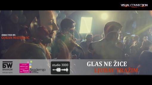 """LJUBAV TRAŽIM – nova pesma grupe """"Glas ne žice"""", šminka i frizura Akademija Purity"""