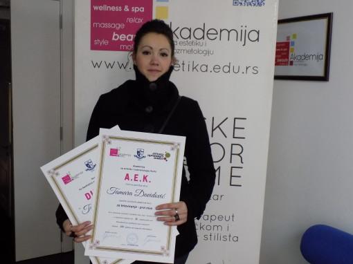 Tamara Davidović, akademski kurs za tattoo majstora