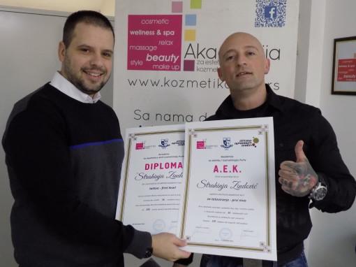 Strahinja Zindović, akademski kurs za tattoo majstora