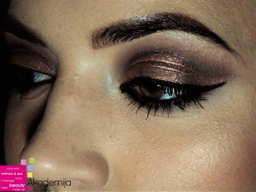 Kako istaknuti braon oči šminkom