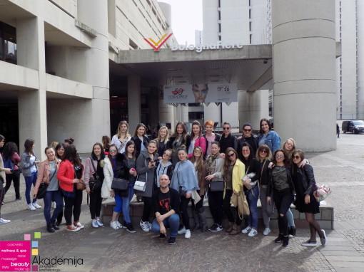 SAJAM KOZMETIKE U BOLONJI – studenti i profesori Akademije, putovanje i edukacija