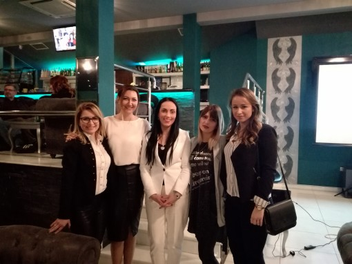 PROMOCIJA PURITY KOZMETIKE – profesorke Akademije na otvaranju salona polaznika Dragane Janković