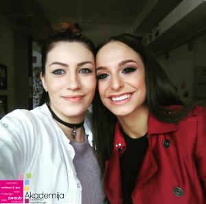 """EDITA ARADINOVIĆ – pevačica grupe """"Ministarke"""", šminka Akademija Purity"""