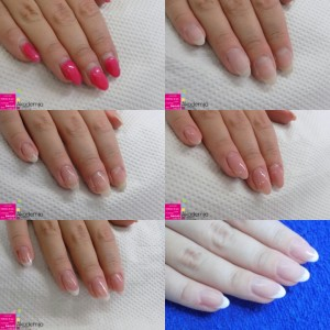 KOREKCIJA NOKTIJU KORAK PO KORAK – sa kursa za nadogradnju noktiju i nail art