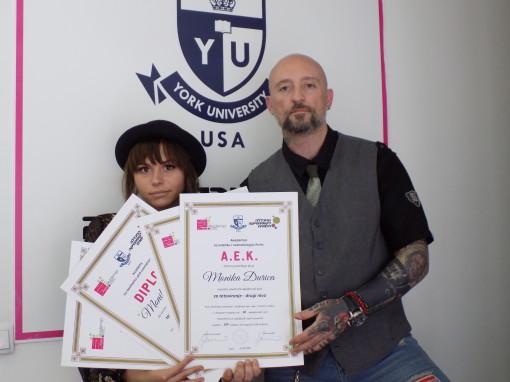 Monika Đurica, akademski kurs za tatto umetnika