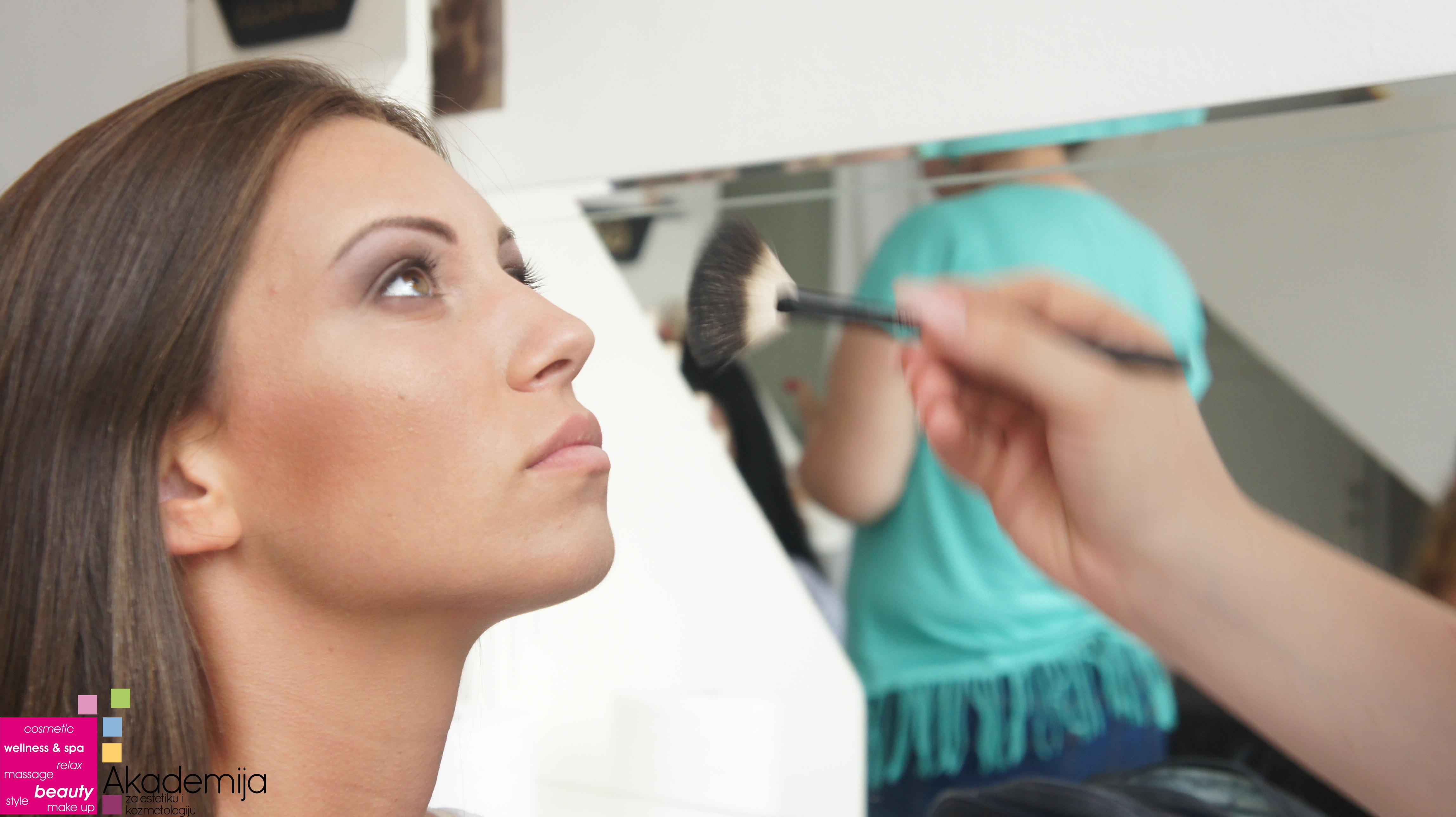 ŠMINKA PREMA OBLIKU LICA – kurs tehnika šminkanja lica