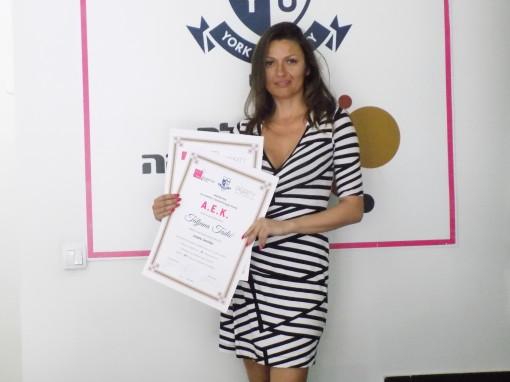 Tatjana Tadić, akademski kurs trajne šminke