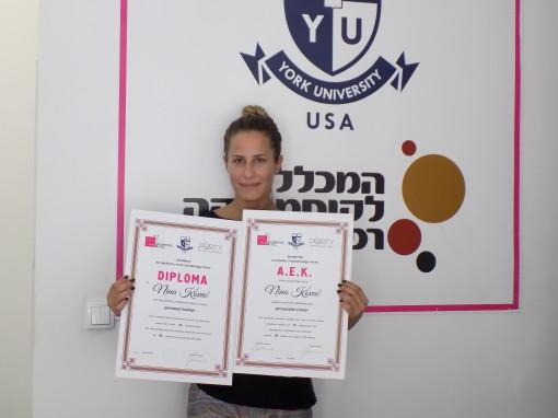 Nina Kovač, akademski kurs za personalnog trenera