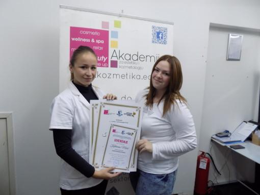 Katarina Mićić, akademski kurs tehnika šminkanja lica