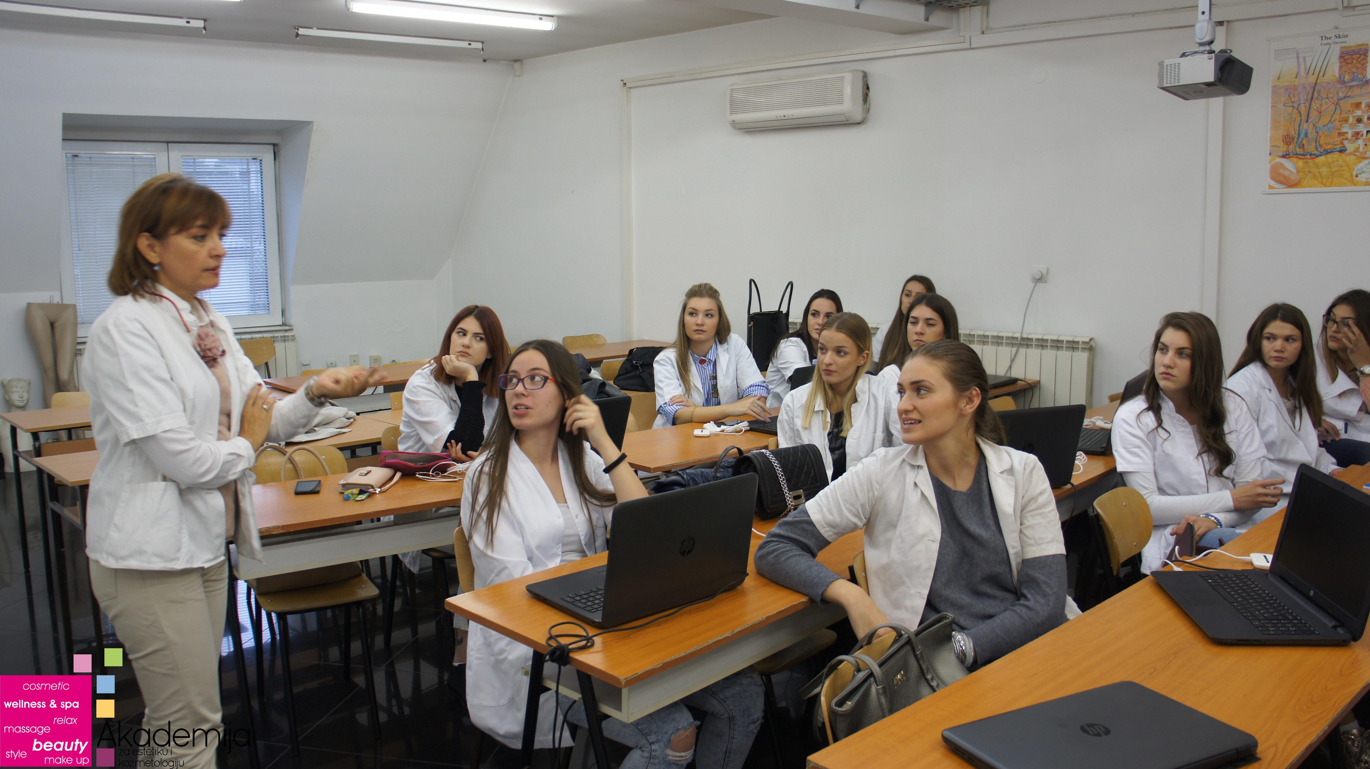 NOVA GENERACIJA ESTETIČARA KOZMETIČARA – Profesor Prim. Dr Svetlana Grubor