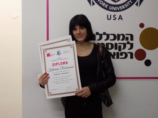 Katarina Rabrenović, akademski kurs za ženskog frizera I i II nivo